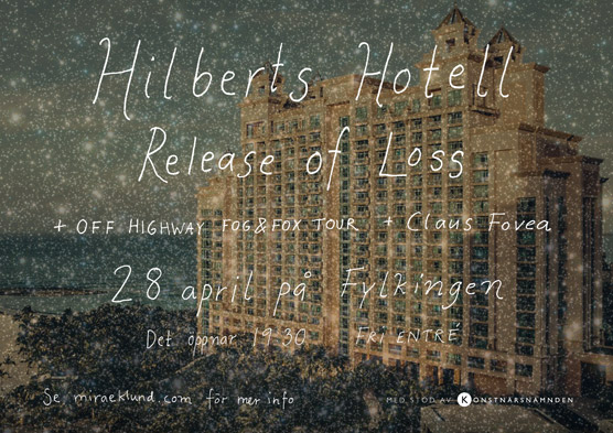 Hilberts Hotell – Release of Loss – affisch